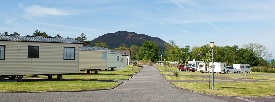 Glenross Caravan Camping Park Ring Of Kerry County Kerry